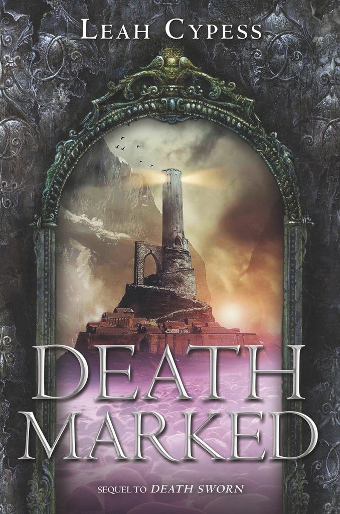 Deathmarked Book Cover By Leah Cypess